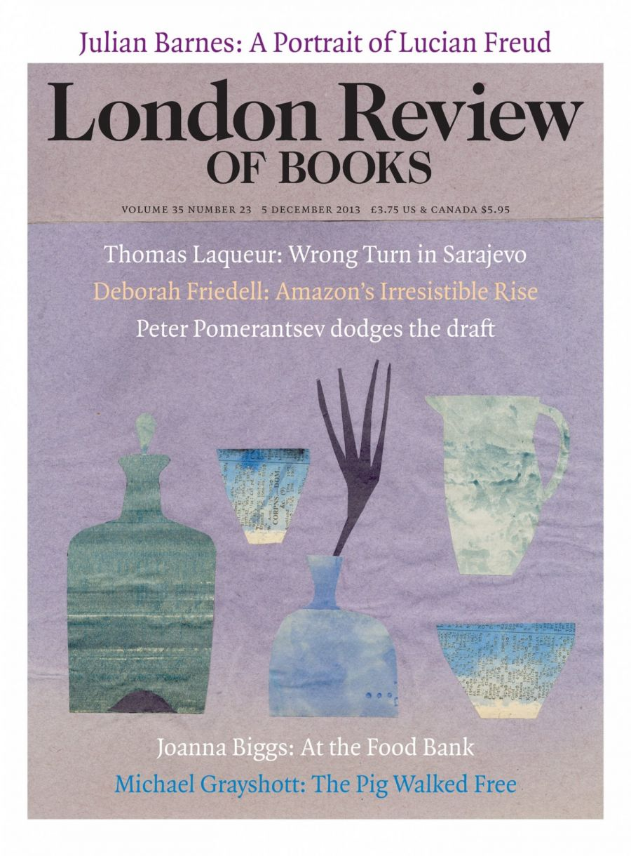lrb cover 12/05/2013 collection of pots and vases.