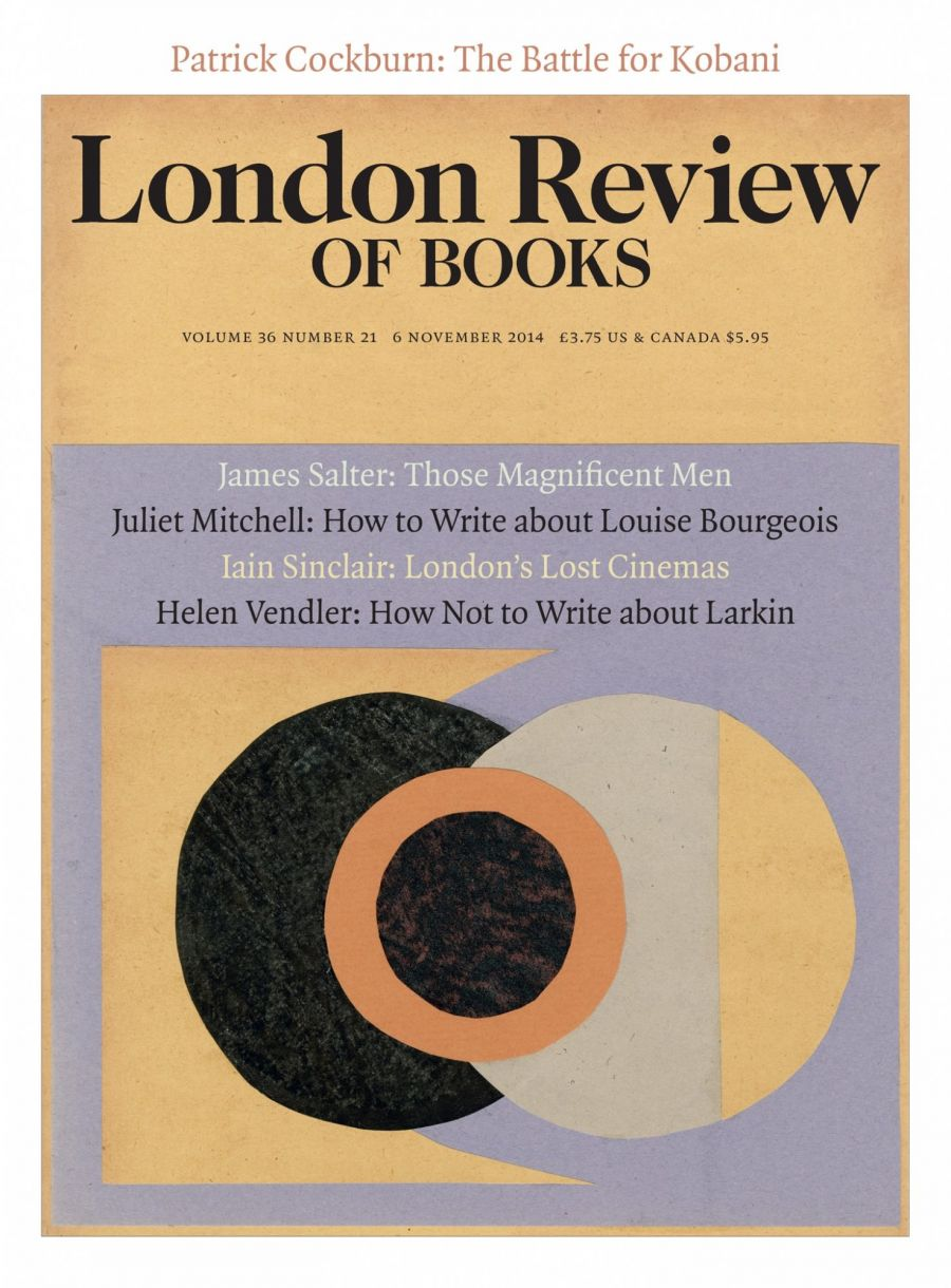 LRB cover 11/06/2014 abstract design with overlapping circles.